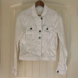 Kut from the Kloth white denim jacket